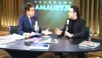 """Vídeo – Pastor Marco Feliciano concede entrevista a Amaury Jr. e critica Daniela Mercury: """"Ela é oportunista"""""""
