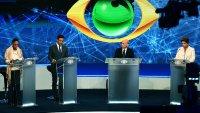 """Debate da Band: Marina Silva ataca """"erros"""" de Dilma Rousseff e pastor Everaldo fala em combate à corrupção"""