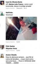 """Imagem da """"macumba"""" contra Marisa Lobo"""