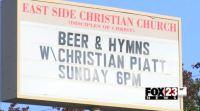 Igreja cristã causa polêmica por oferecer cerveja aos fiéis durante culto de domingo