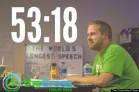 Pastor faz sermão de 53 horas e pede ao Guinness título de discurso mais longo da história