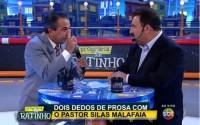 """Programa do Ratinho – Pastor Silas Malafaia dispara contra proposta de tributação das igrejas: """"Papo ideológico da esquerda""""; Assista na íntegra"""