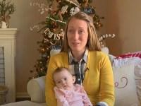 """""""Milagre"""": recém-nascida é curada de tumor no cérebro após família e amigos orarem a Deus"""