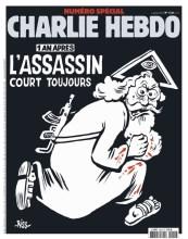 Um ano após atentado, Charlie Hebdo aponta Deus como responsável pelo terrorismo muçulmano