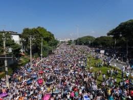 Sem dados da PM, organizadores anunciam que Marcha Para Jesus reuniu 3 milhões de fiéis em SP