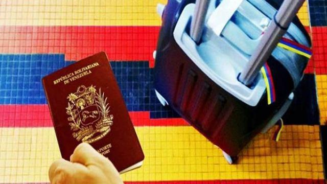 Resultado de imagen para emigrantes venezolanos a america