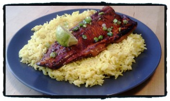 Honey and Soy Grilled Rainbow Trout