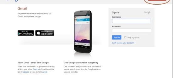 Website Gmail