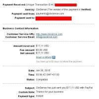 Paypal PaymentProof June 2015