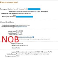 Payment Proof Clixsense June 2016 2nd