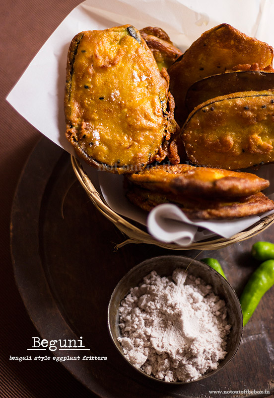 Beguni- Batter Fried Eggplants Recipe — Dishmaps