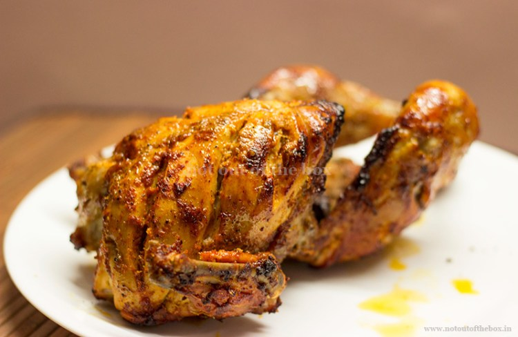 Chicken Roast in Desi style