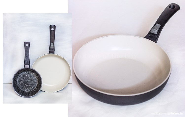 Tidy Homz Cookwares. In this recipe I've used Ecolux Extra Deep Frypan .