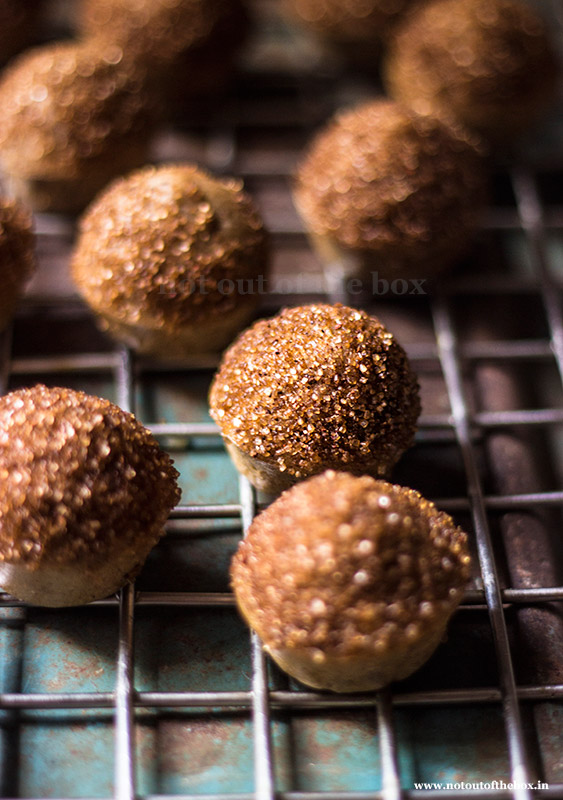 Old style Mini Doughnut Muffins