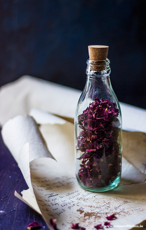 Edible Dry Rose Petals
