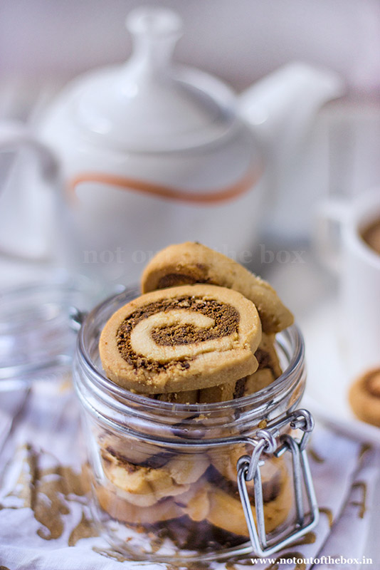 Spiral Cookies made with RiteBite Max Protein