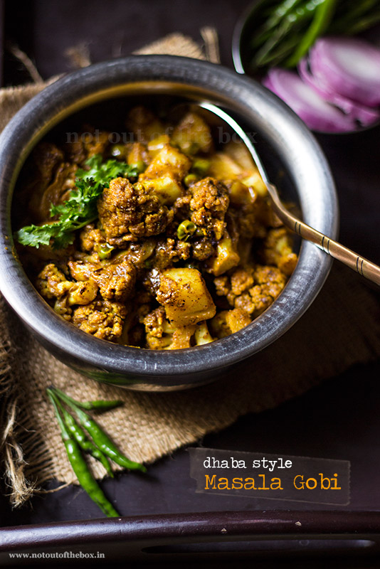 Masala Gobi- Dhaba style