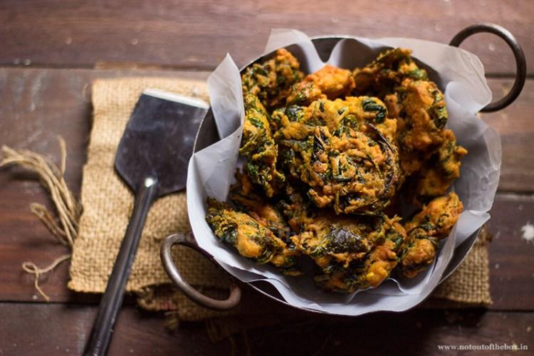 Patpatar Bora/Jute Leaves Fritters