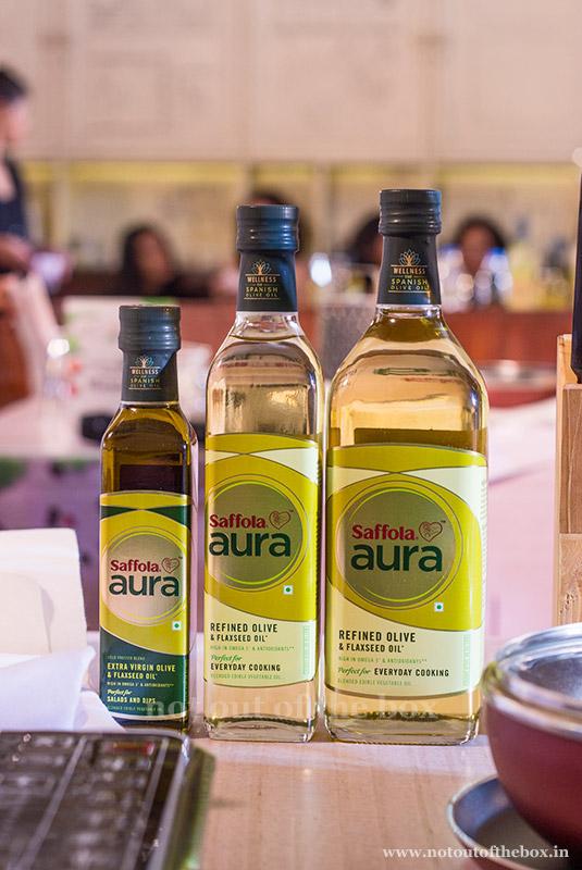 Saffola Aura Oil