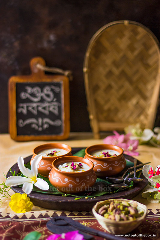 Chanar Payesh/Cottage Cheese Pudding