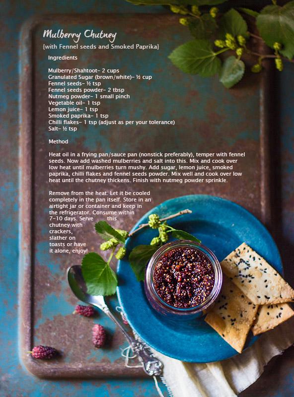 Mulberry Chutney