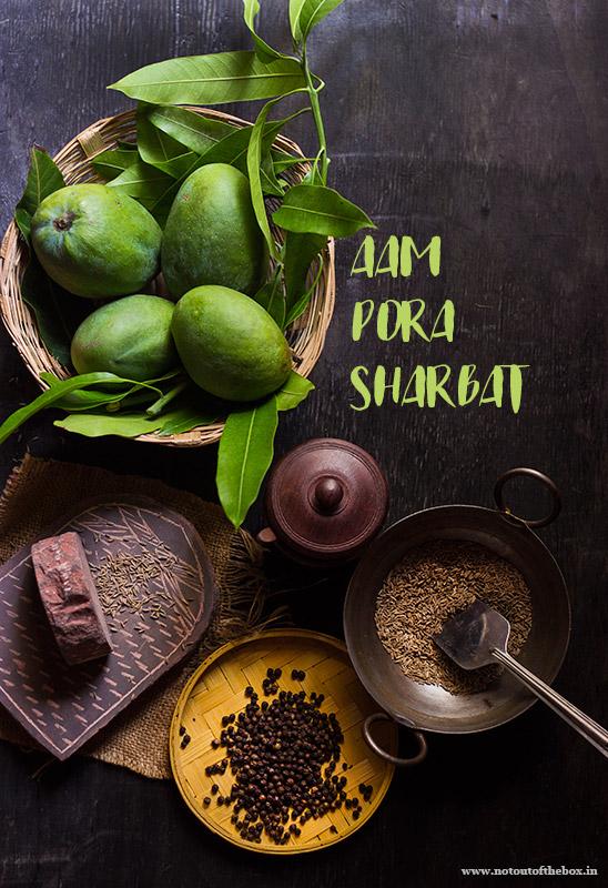 Ingredients for Aam Pora Sharbat