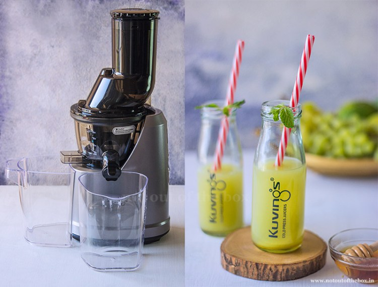 Green Summer Juice with Kuvings Cold Press Whole Slow Juicer