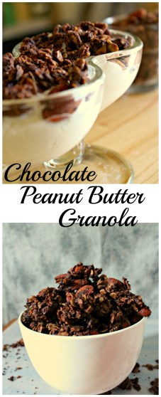 Chocolate Peanut Butter Granola CV