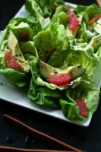 grapefruit and avocado salad // not without salt