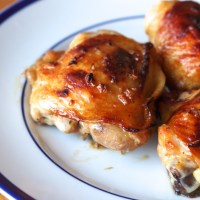 Honey Soy Sauce Chicken Thighs