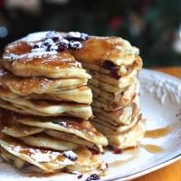 Greek Yogurt Cranberry Pancakes