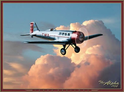 TWA airplane