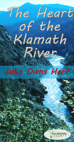 the klamath river and her caretakers vs the carpetbaggers