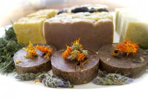 Gift ideas for the soap lover on your list: natural soaps from a small producer in Maryland