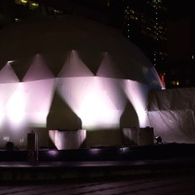 Giant Igloo, downtown Portland