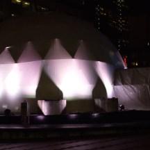 Giant Igloo, downtown Portland