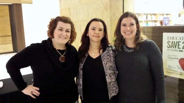 Stacy Toth, Me, and Sarah Ballantyne