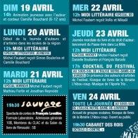 Programmation papier du festival / CLAC