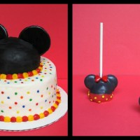 Mickey Mouse Cake and Pops