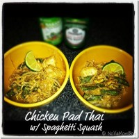 Chicken Pad Thai with Spaghetti Squash