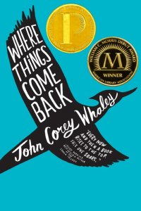 where things come back paperback printz morris