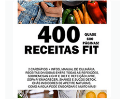 Ebook 400 Receitas Fit com Cardápios - Emagrecendo com a Camis