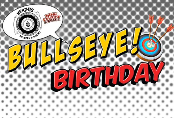 Bullseye birthday