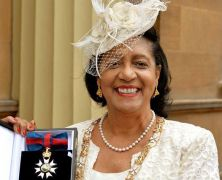 Dame Cécile Knighted