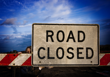 rgpf police Road Closed