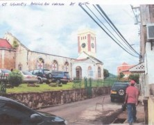 Restoration Begins on St George's Anglican Church