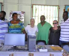 Computer donated to Mt Royal Women's Group