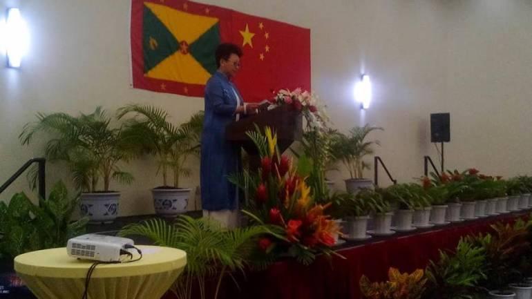 Chinese Ambassador to Grenada Ou Boqian