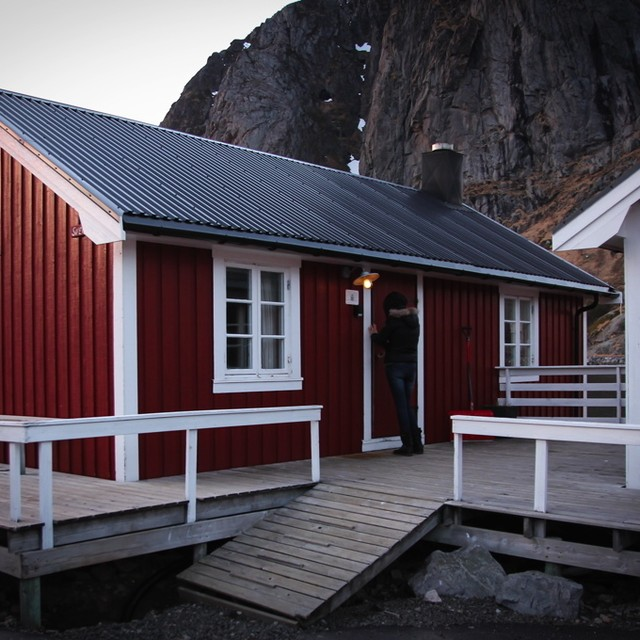 Notre jolie cabane o nous avons pass 2 nuits Eliassenhellip