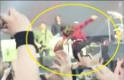 #NowNews Dave Grohl se rompe una pierna y continua cantando(+VIDEO)